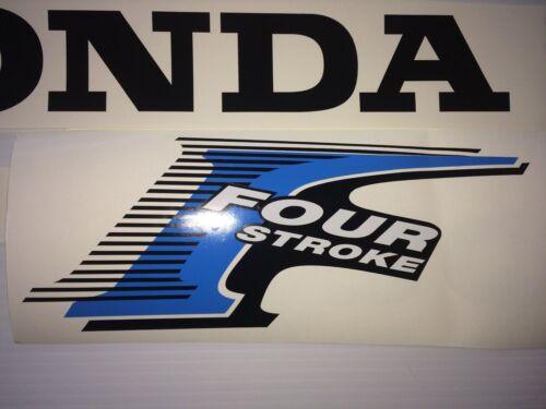 Honda Outboard 30 hp 8 decal  set 4-Stroke Decal Kit Fourstroke 30 hp kit
