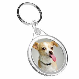 1 X Mignon Chihuahua Chien Chiot-porte-clés Ir02 Maman Papa Anniversaire Enfants Amusant Cadeau #8641