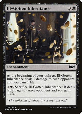 The Gathering MTG Ravnica Allegiance Incongruity X4 M//NM Magic Incubation