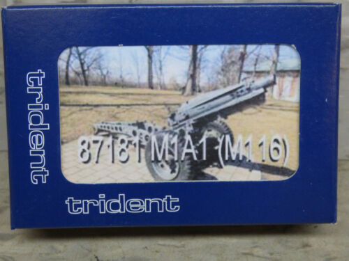 Roco Minitank Compatible WWII US M1A1 75mm Pack Howitzer Lot#3230K Trident