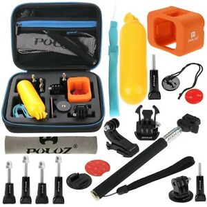 PULUZ 18 in 1 Accessories Combo Kit with EVA Case for GoPro HERO5 Session /4