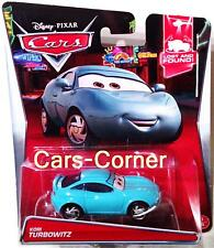 DISNEY Pixar Cars 2 kori Turbo battuta-la Top RSN reporter MATTEL 2014 NUOVO OVP