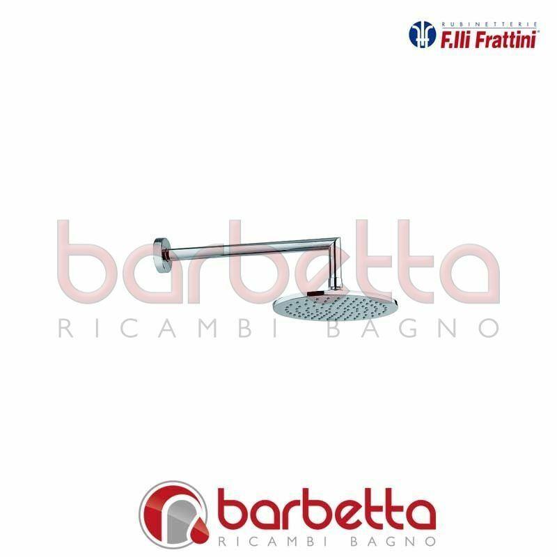 BRACCIO DOCCIA CON SOFFIONE ELLITTICO DELIZIA FRATTINI 59608