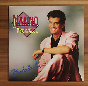 Single-7-034-VINYL-Nanno-e-la-ROMANTIC-Flamingos-BALALAICA-1991-TOP