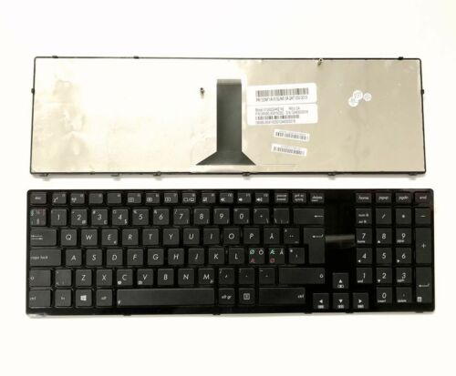 New Danish Swedish Norwegian Finnish Nordic keyboard for Asus K93 K95 R900V X93S