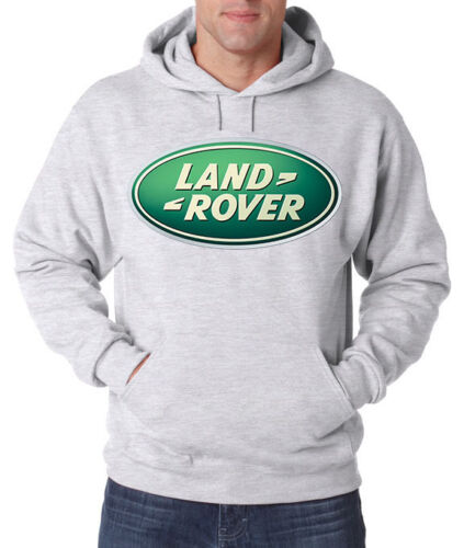 Land Rover CARS SUV Trucks NEW Men/'s HOODIE FRUIT OF THE LOOM PRINT BY EPSON