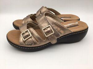 Clarks Shoe Cushion Soft Gold Slip