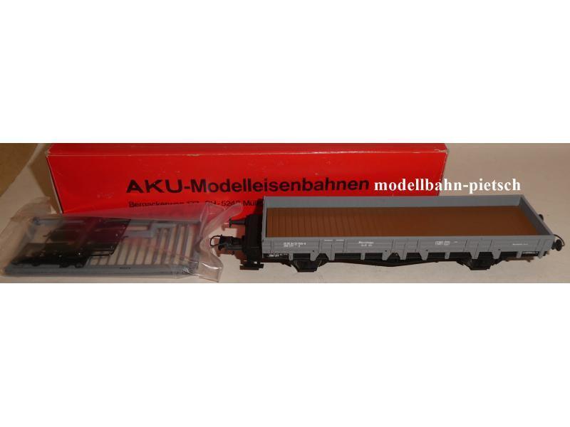 AKU-modello AKU-modello AKU-modello ferroviario 1018 carro Piatto Grigio SBB-CFF x 3085 9457 845 - -9, Nuovo, Confezione Originale ee8f4a