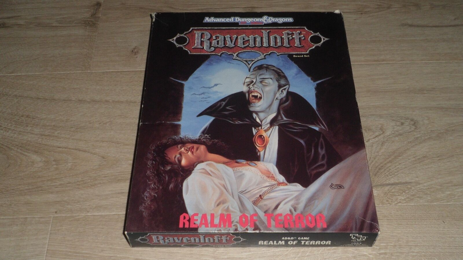 AD&D ADVANCED DUNGEONS AND DRAGONS - RAVENLOFF - REALM OF TERROR 1053