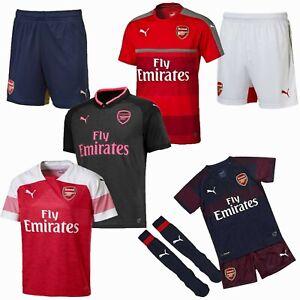 Details about Arsenal FC Football Shirt Shorts Sale Mini Kit Boys Girls  Kids Junior Top PUMA