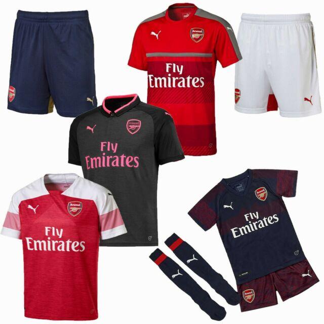 detailed look 02bdf 562d4 Arsenal FC Football Shirt Shorts Sale Mini Kit Boys Girls Kids Junior Top  PUMA