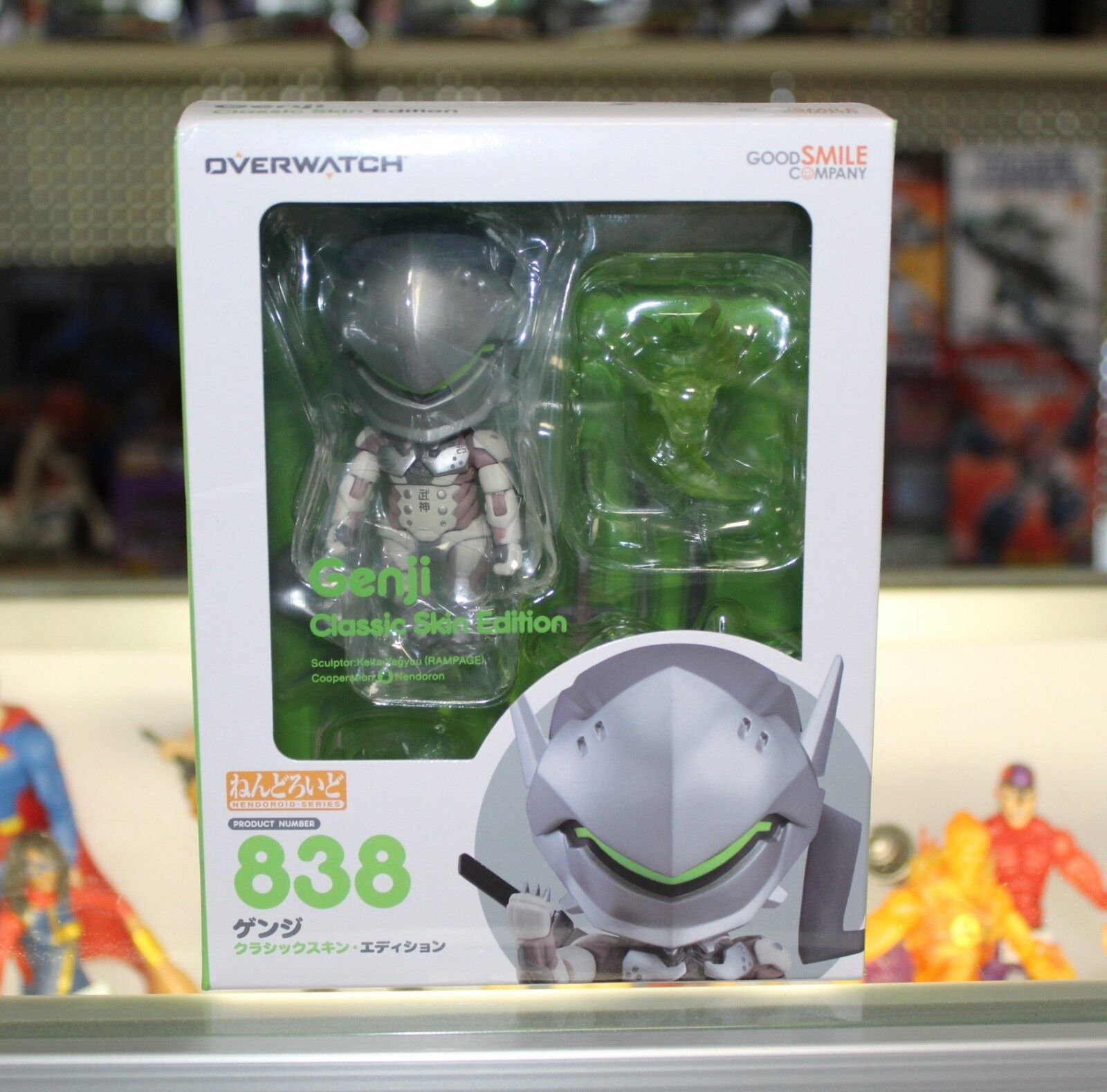 Good Smile Company NendGoldid Overwatch Genji Classic Skin Edition 838 Authentic