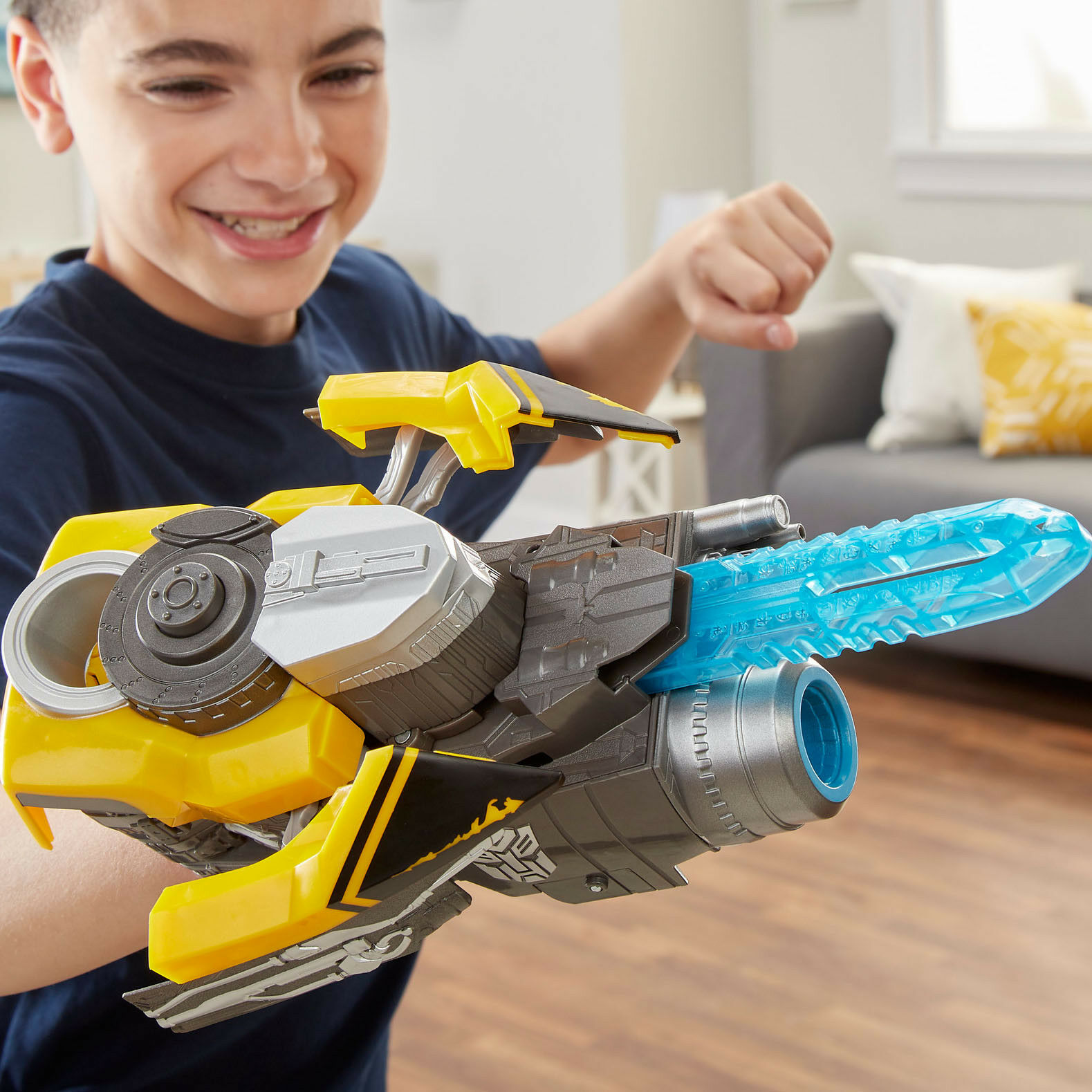 TRANSFORMERS Bumblebee Movie 2018 Stinger Blaster Disc Shooter ROLEPLAY WEAPON