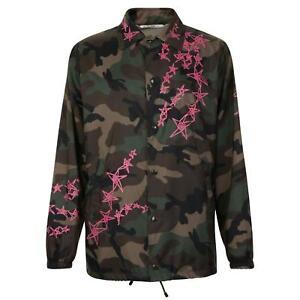 Camouflage Size Valentino Jacket L Rrp 40 Bnwt £925 Uk Coach Or Zandra Men's 50 YRxqqdt