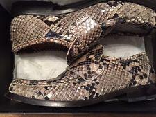 PATRICK COX WANNABE Vintage 90's Python (Real Snakeskin) Loafers Size 42 UK 8