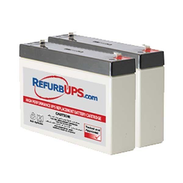 Set of 2 APC POWERSTACK 250VA UPS Replacement Batteries