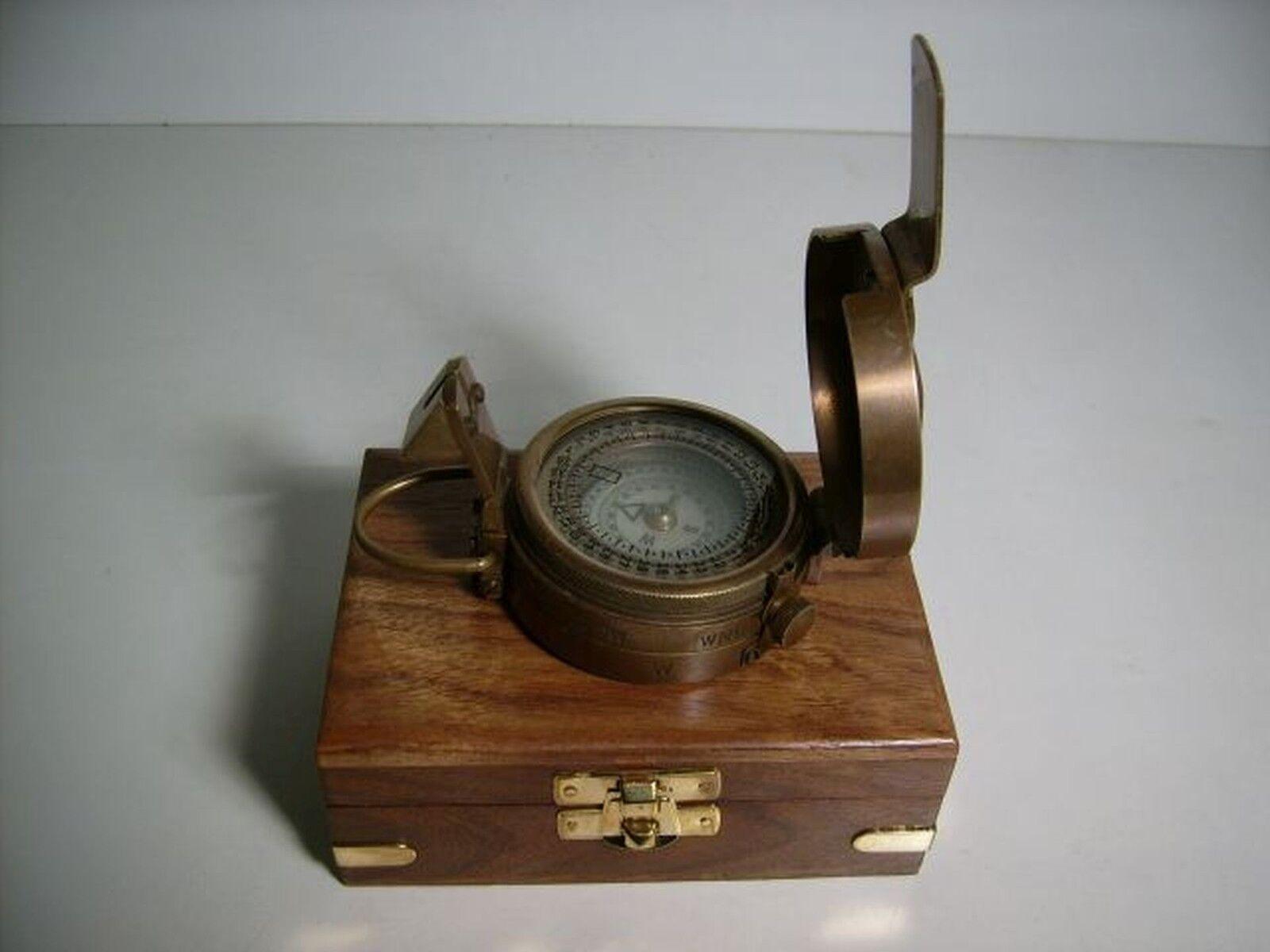 Peilkompass, coffret, orientation, abenteuerer, navigateur, marcheurs, marcheurs, marcheurs, décoration aa3eda