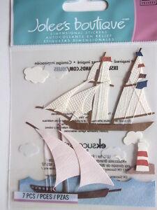 Jolee&#039;s Boutique Pegatinas-Náutica viajes veleros  </span>