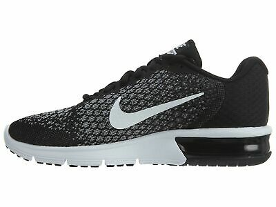 Nike Air Max Sequent 2 Black White Gray Running Shoe Men's Size 852461005 11