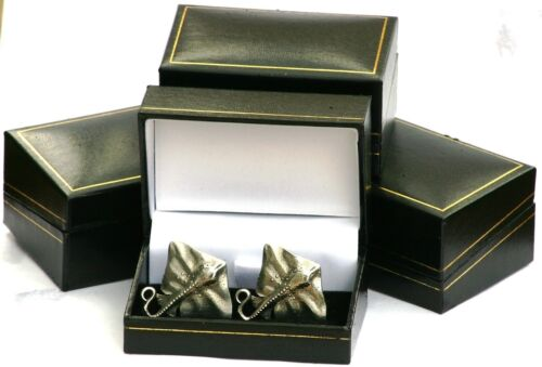 Ray Cufflinks Pewter Hand Made in UK Gift Boxed or Pouched QUANTITY DISCOUNT