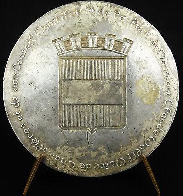 2019 úLtimo DiseñO Médaille Ville De Chamalière Fontaine Sc Jen Philippe Roch Medal Sabor Puro Y Suave