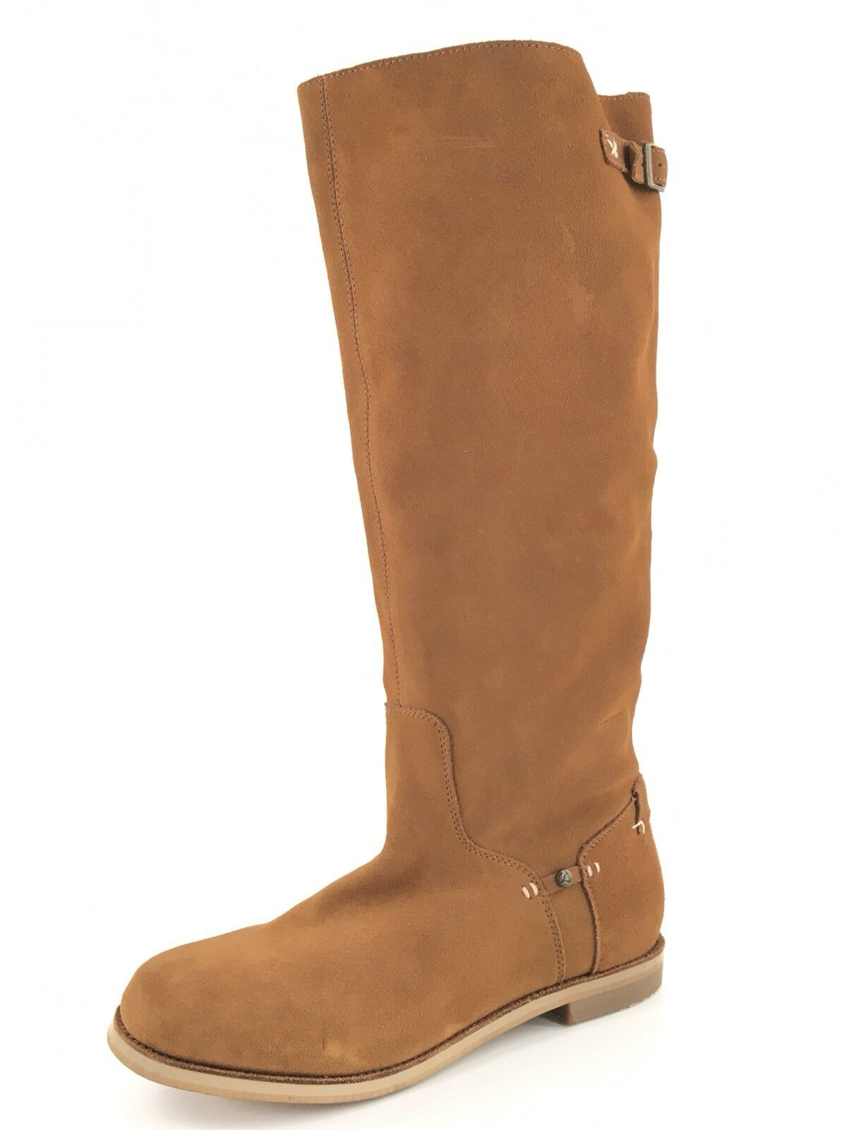New Reef High Desert Chestnut Suede Knee High Boots Women's Size 9 M