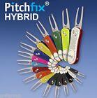 Pitchfix Hybrid Switchblade professional gunmetal golf Divot Tool & ball marker