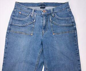 Vintage-Jeanstar-Womens-Jeans-Sz-10-Flip-Pocket-Light-Wash-Denim