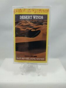 Desert Winds Enhanced with Music, Sounds of Nature - Audio Cassette Tape