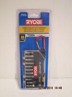 Ryobi Screw Guide Kit W/carabiner, A961201, 12 Piece, Free Shipping Nisp