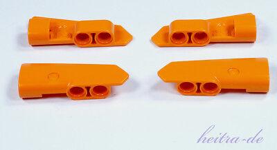 Lego Technik - 4 X Panel #21 U. #22 - 5x2x1 Orange (2 Paare) 11946 11947 Neuware