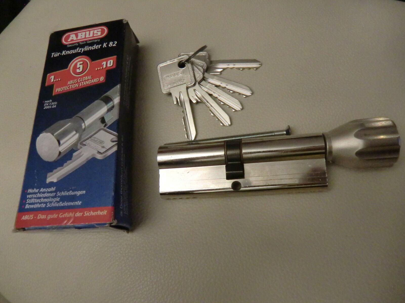 Knaufzylinder K82 ,Abus  Schließzylinder 50 45, 5 Schlüssel | Leicht zu reinigende Oberfläche  | Bestellung willkommen  | Ästhetisches Aussehen  | Trendy
