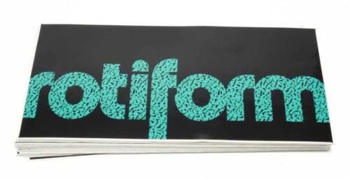 Rotiform Rims Original Sticker Decal Tuning Dub