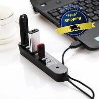 Power Strip Usb Hub Multiple Port Connect Cable Speed Pc Travel Charging Laptop