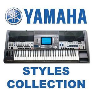 styles cd for yamaha psr s710 s750 s910 s950 700 900 710. Black Bedroom Furniture Sets. Home Design Ideas