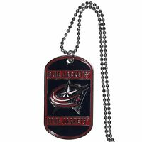 Columbus Blue Jackets Licensed Nhl Hockey Necklace Dog Tag 26 Chain