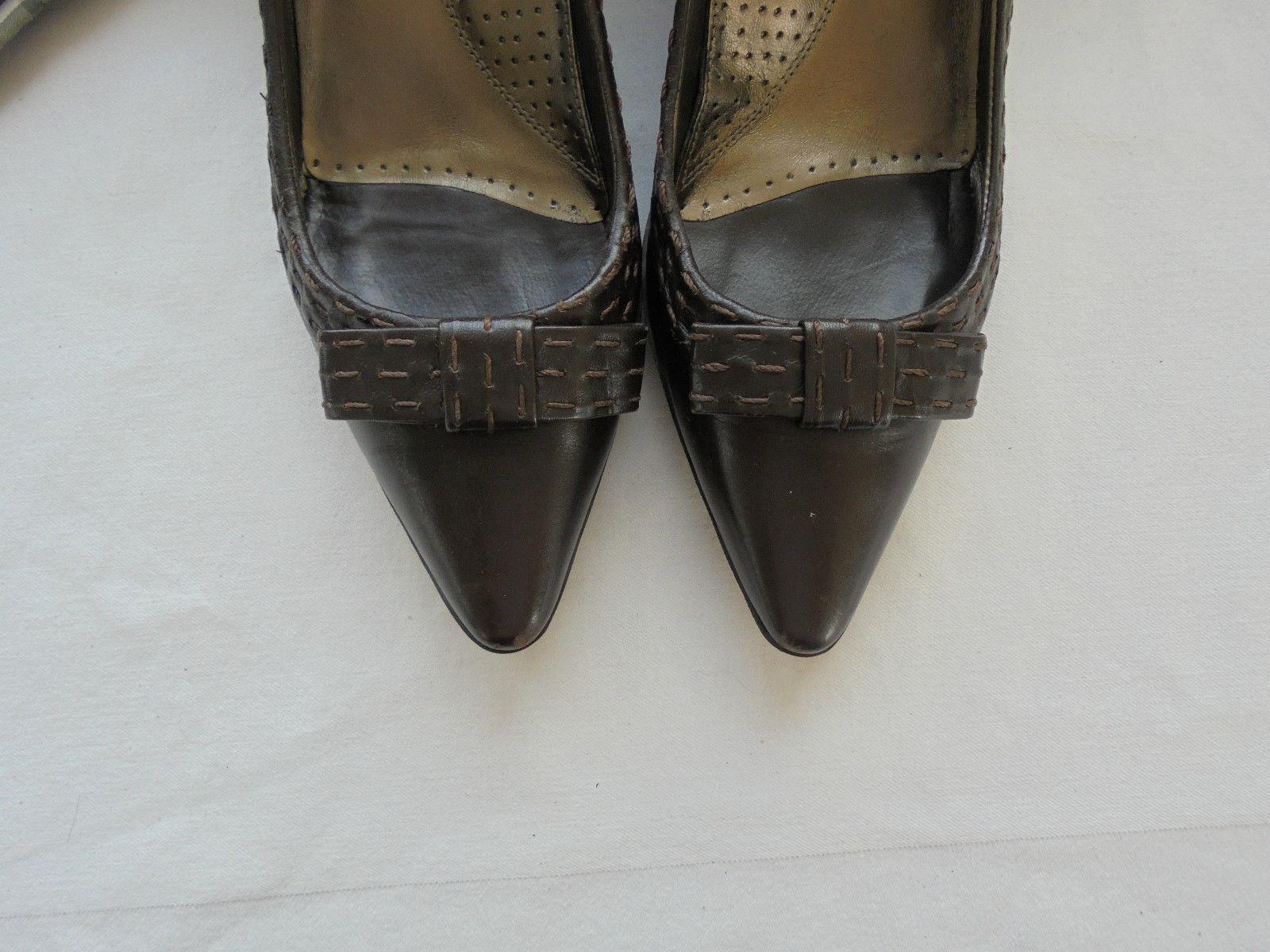 Hugo Boss Leder Pumps NP: Designer  TOP w NEU Designer NP: Tasche Ballerinas Schuhe Gr 36 bfa756
