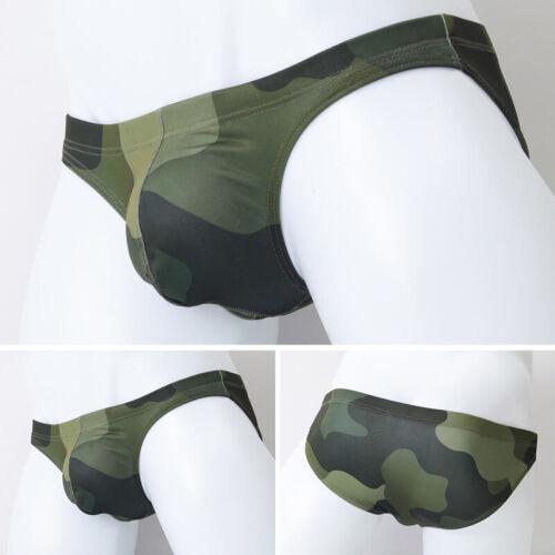 Men/'s Breathable Underwear Boxer Briefs Shorts Bulge Pouch Camouflage Underpants
