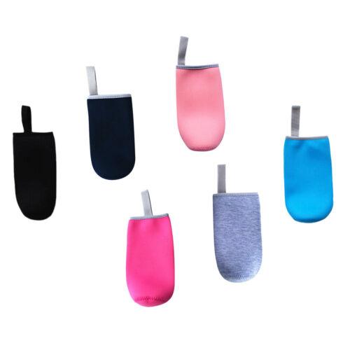 6pcs Isolierender Neopren Thermo-Hülle für Trinkflasche Sport Glasflasche