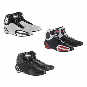 37e88a051f1 Image is loading 2015-Alpinestars-Faster-Motorcycle-Riding-Shoes-Boot -fastlane-