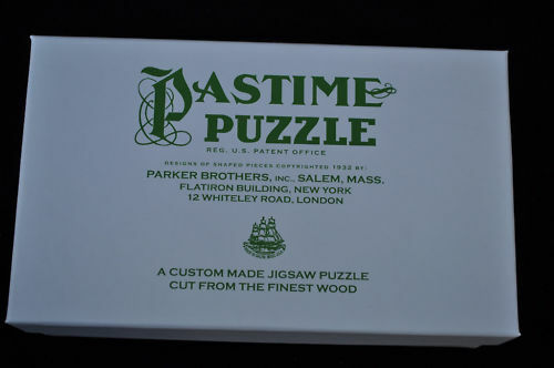 Pastime Puzzle Box – Replacement Box  - 100 piece Puzzl