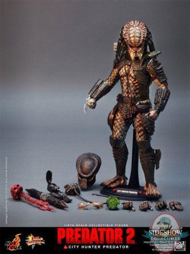 Predator 2 City Hunter Predator Sixth Scale Figure by Hot Toys