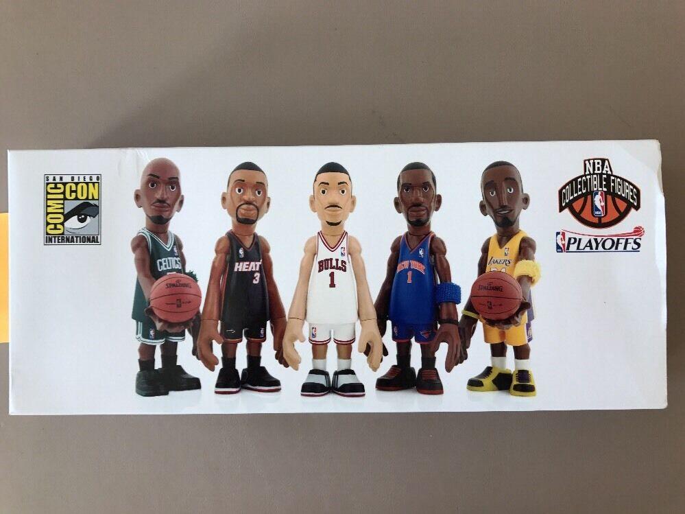 Mindstyle Coolrain x NBA SDCC Exclusive 5 Figure Set
