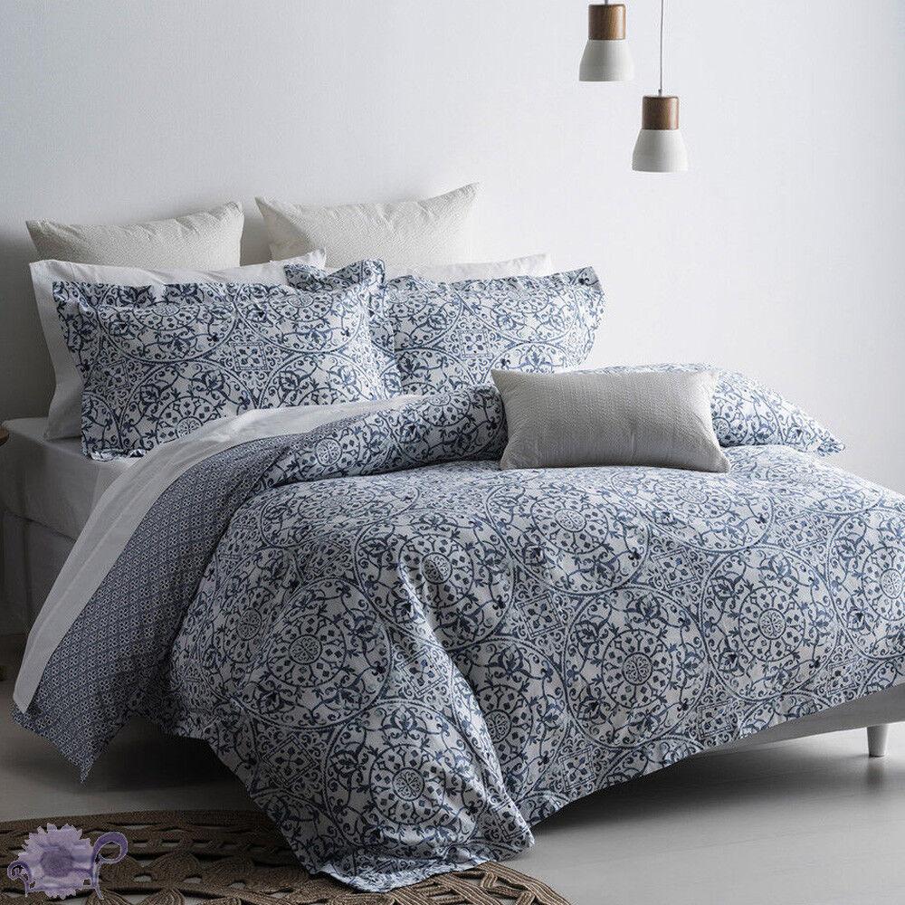 Sarina Duvet Doona Quilt Cover Set by Onkaparinga   Cushion   Euro Pc's   King
