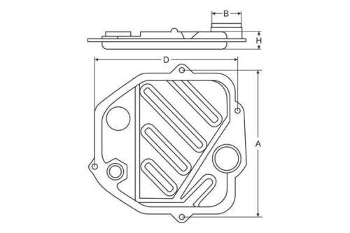 7-spd. VW gear box DSG DQ500 Transmission Filter for AUDI