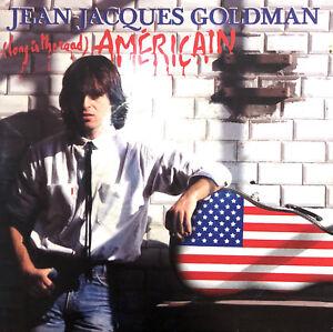 Jean-Jacques-Goldman-7-034-Long-Is-The-Road-Americain-Label-papier-France