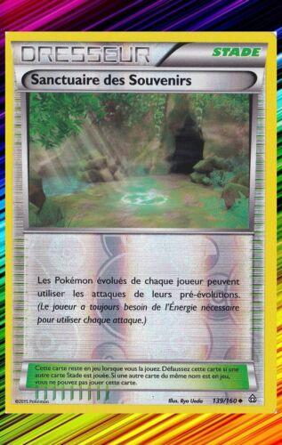 139//160 Shrine of memories re-xy5 French designer card pokemon primo choc