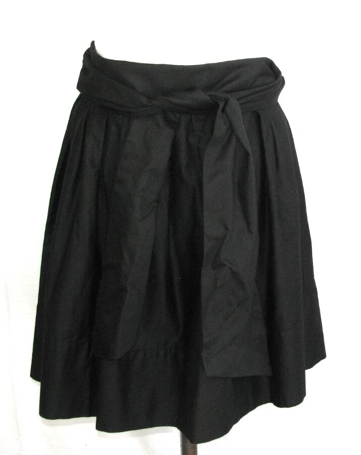 FRENCH CONNECTION - JUPE ORIGINALE black size 8 US 38 FR - NEUF AVEC ETIQ.