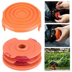Grass-Cutter-Spool-W-Spool-Cover-Kit-For-WORX-50019417-WG105-WG118-Accessory
