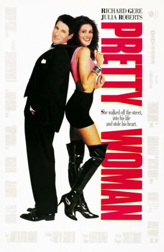 """Classic Movie Poster Various Sizes /""""Pretty Woman/""""..Richard Gere Julia Roberts."""